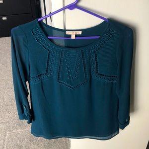 Blue blouse, XS